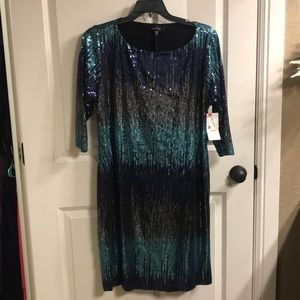 760e4bd454a2 Women's Sequin Dress Navy on Poshmark